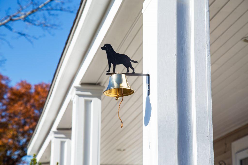 Bevin Bells brass wall bells: indoor & outdoor