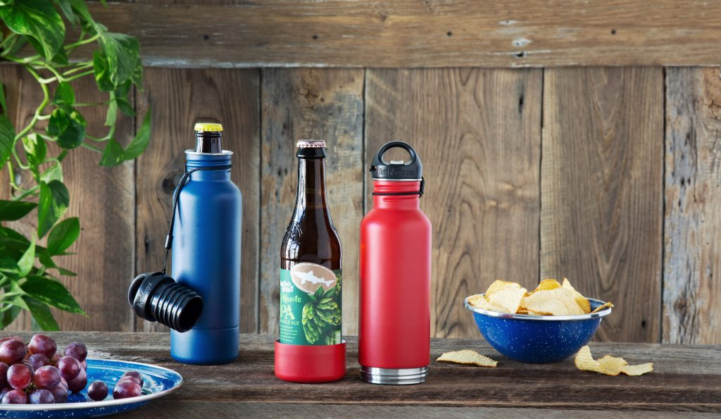 BottleKeeper insulated beer bottle holder on the go