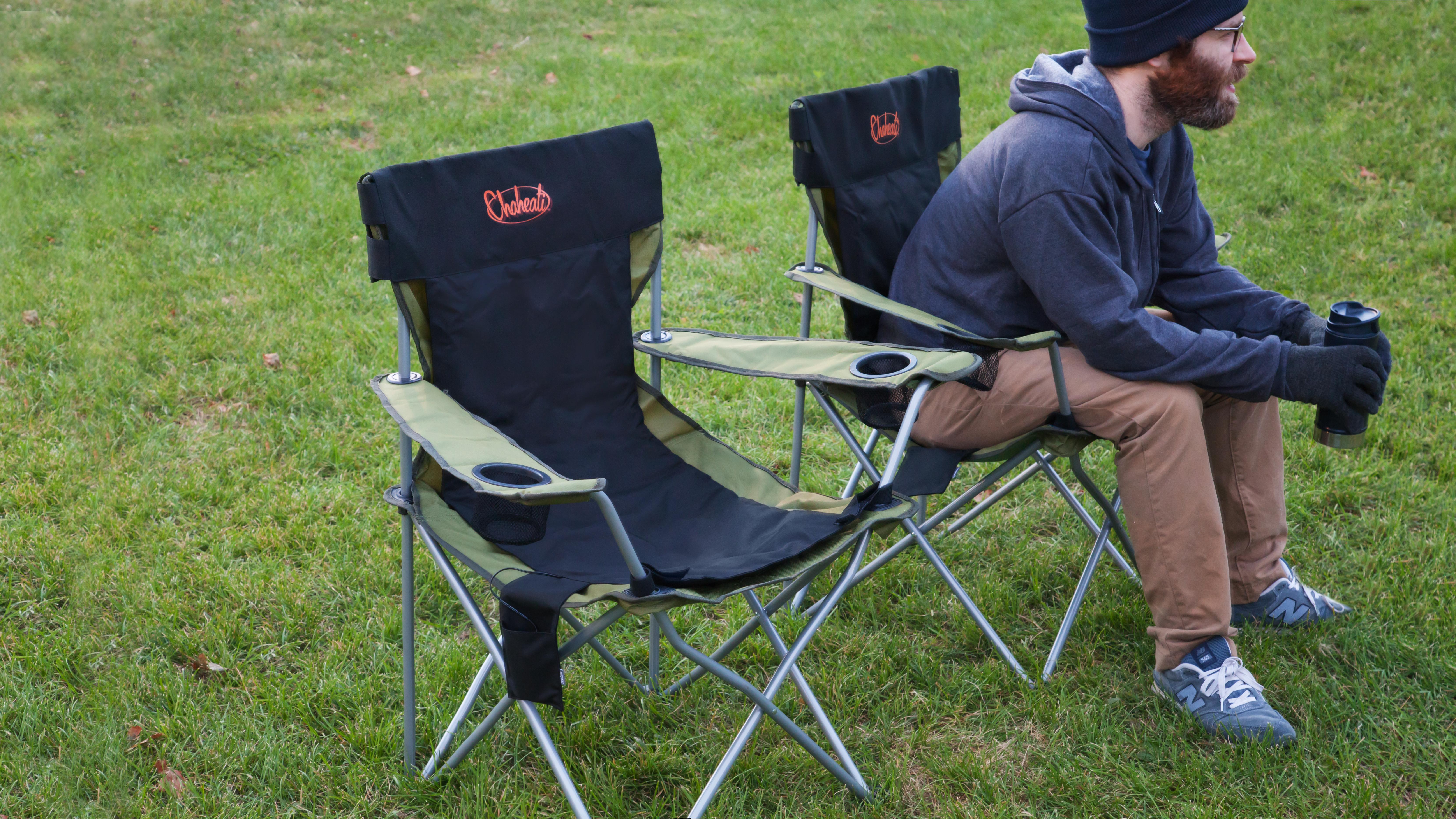 Chaheati travel heated seat cover