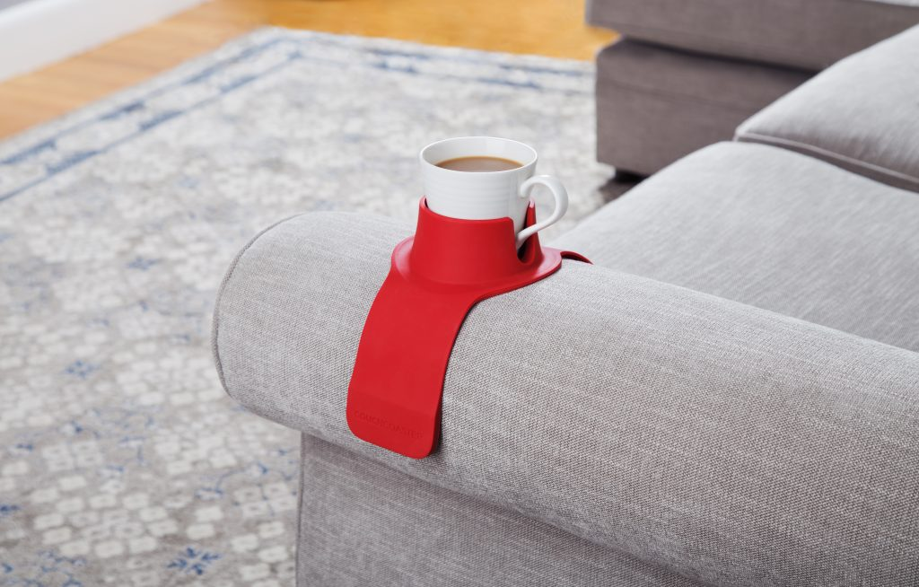 CouchCoaster weighted drink coaster