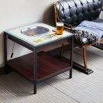StadiumViews 25 layer lighted Michigan State stadium end table