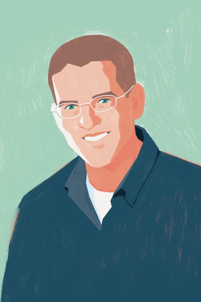 Illustration of Matthew Thomas of ThomasWork