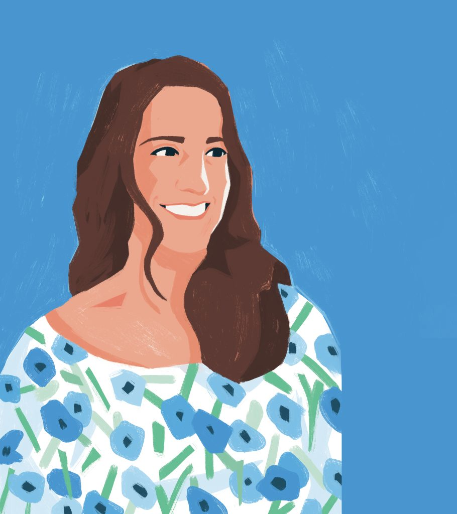 Illustration of Sierra Steifman of The Floral Society